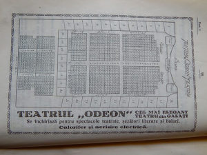 Plan Cinema Odeon Galați