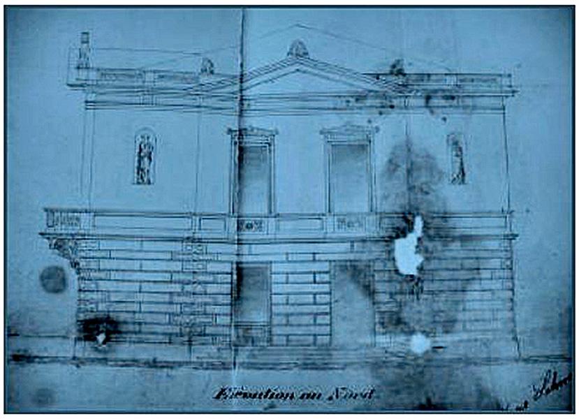 Planul inițial al Casei Serfioti