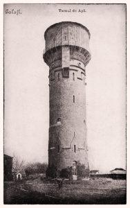Turnul de Apă Galați, cartier Țiglina II - construit 1894