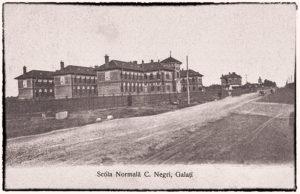 Liceul Pedagogic Costache Negri în 1912