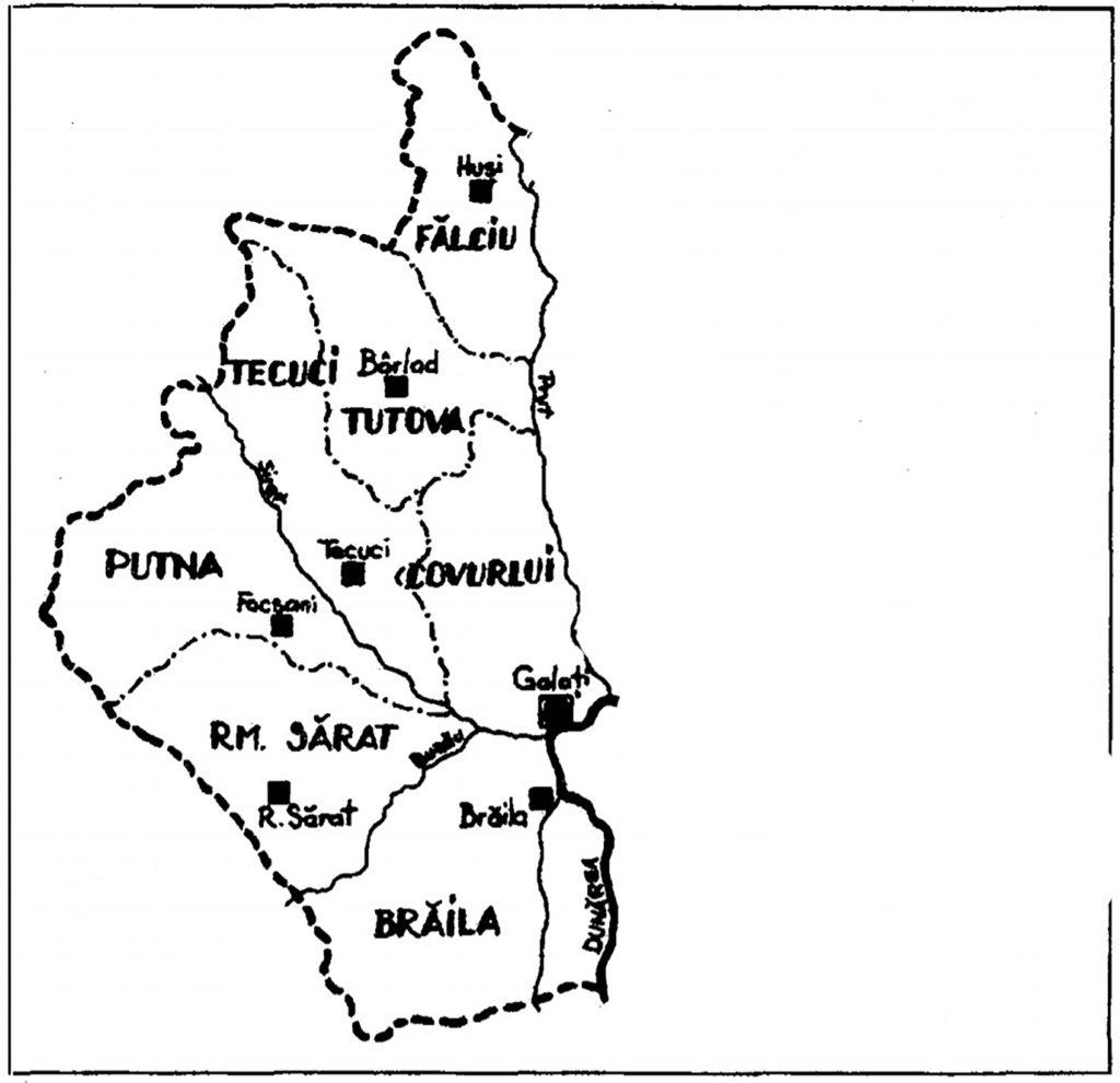 Ținutul Dunărea de Jos septembrie 1940