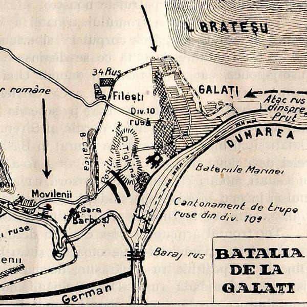 Bătălia de la Galați – 1918